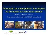 Formação de manejadores de animais de produção em ... - ETCO