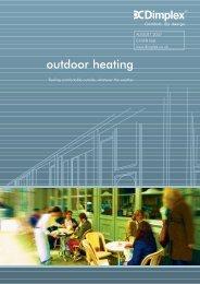 outdoor heating - Dimplex
