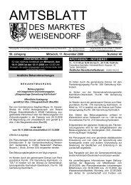 Superstar - Gemeinde Weisendorf