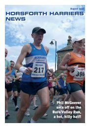 August 2010 - Horsforth Harriers