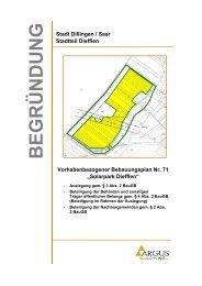 Solarpark Diefflen - Stadt Dillingen