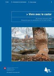 Vivre avec le castor. Recensement national de 2008 - CSCF