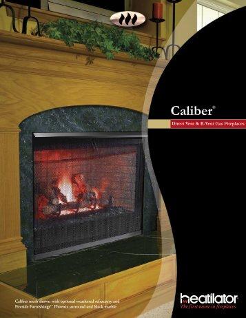 Caliber® - At Andiron Fireplace Shop
