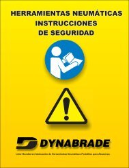 advertencia - Dynabrade Inc.