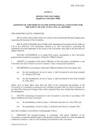 MSC 85/26/Add.1 ANNEX 4 RESOLUTION MSC.269(85) (adopted ...