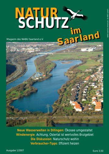 Neue Wasserwelten in Dillingen - beim NABU im Saarland