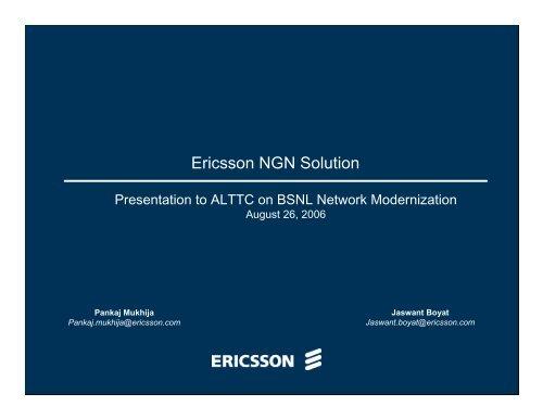 BSNL net work migration