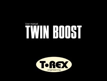 twin boost - The Electric Room
