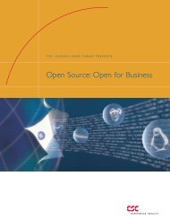Open Source: Open for Business