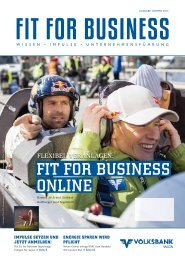 Fit For BusinEss onlinE - Volksbank Wien AG