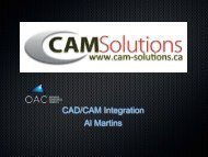 CAD/CAM Integration Al Martins