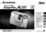 FinePix A201 Owner's Manual - Fujifilm USA