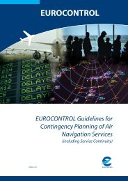 EUROCONTROL Guidelines for Contingency Planning of Air ...