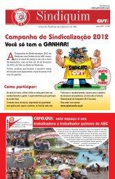 Campanha de Sindicalização 2012 - Sindicato dos Químicos do ABC