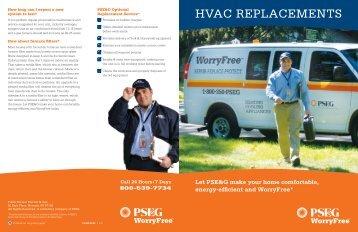 HVAC REPLACEMENTS - PSEG