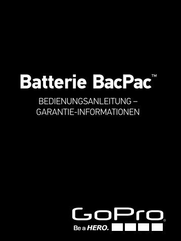 Batterie BacPac™