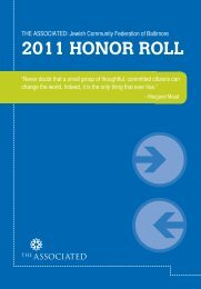2011 HONOR ROLL - The Associated