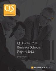 QS Global 200 Business Schools Report 2012 - International ...