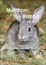 Nutrition of the Rabbit, Second Edition - RabWay