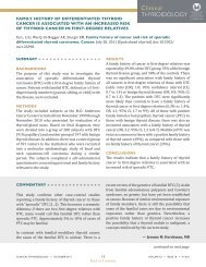 family history of differentiated thyroid cancer is associated with an ...