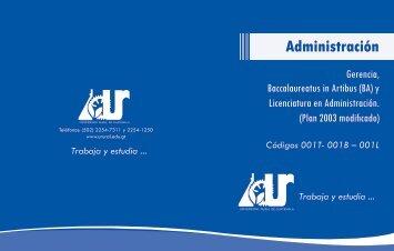 administracion - Universidad Rural de Guatemala