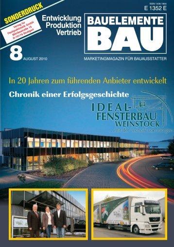 BAUELEMENTE - IDEAL Fensterbau Weinstock