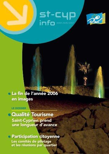 Qualité tourisme - Ville de Saint Cyprien