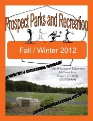 Fall / Winter 2012 - Town Of Prospect