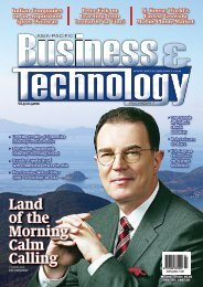 Land of the Morning Calm Calling - Asia-Pacific Business and ...