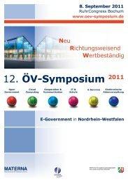 12. ÖV-Symposium 2011 - Oev-symposium.de