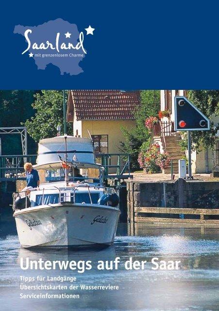 Unterwegs auf der Saar - Tourismus Zentrale Saarland