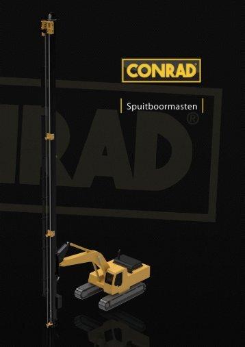 Spuitboormasten - Conrad Stanen BV