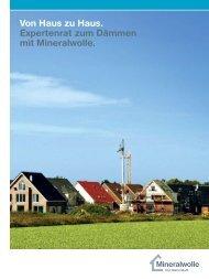 Download der Broschüre als PDF - Mineralwolle. Der Dämmstoff.