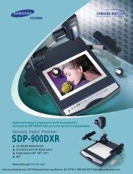 SDP-900DXR - Touchboards