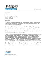 letter - Cortex Business Solutions Inc. - Page