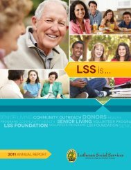 LSS ... - Lutheran Social Services of South Central Pennsylvania