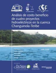 Análisis de costo beneficio de cuatro proyectos - Biblioteca Nacional ...