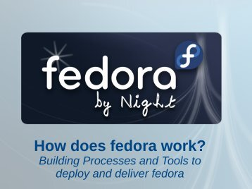How does fedora work? - Fedora Project