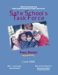 Safe Schools Task Force Recommendations - Ossh.com
