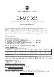 DI-MC 355 - Dillinger Hütte GTS