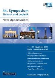 44. Symposium - Logistik Agentur Oberfranken