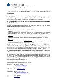 Erläuterungen zum Verfahren mit Antragsformular für ...