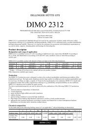 DIMO 2312 - Dillinger Hütte GTS