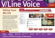 Talking 'bout My Line - V/Line