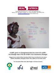 Conflit, genre et changement dans les zones de ... - Peaceworkafrica