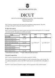 Dicut - Dillinger Hütte GTS