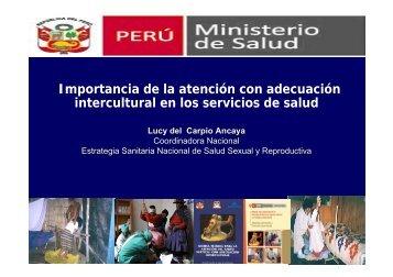 Importancia de la atención con adecuación intercultural en los ...
