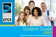 Student Guide - TAFE NSW - Northern Sydney Institute