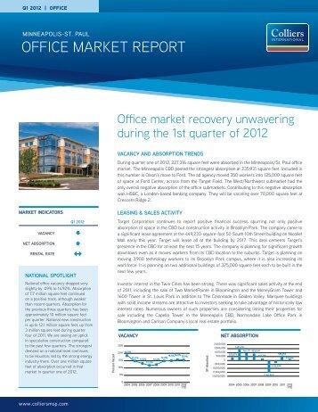 OFFICE MARKET REPORT - REDI-net.com