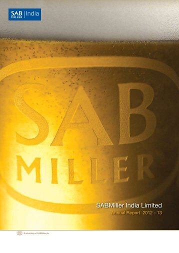 Download the Report - SABMiller India